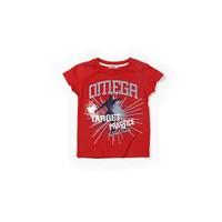 Zeyland Erkek Çocuk Kırmızı T-Shirt - K-61KL1752