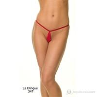 La Blinque Bayan Fantezi Kırmızı Damla String