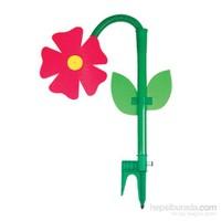 Uydu Dans Eden Çiçek Fıskiye