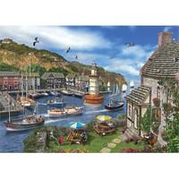 Ks Games 2000 Parça The Village Harbour Puzzle (Dominic Davison)