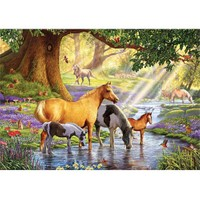 Ks Games 1000 Parça Horses By The Stream Puzzle