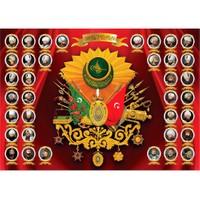 Puzz Puzzle Osmanlı Padişah Armaları (1000 Parça)