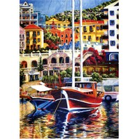 Puzz Puzzle Renkli Liman (1000 Parça)