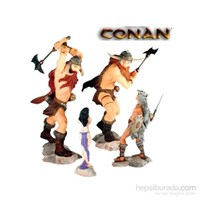 Conan Pvc Set: The Frost Giant's Daughter Figür Seti