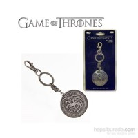 Game Of Thrones Targaryen Shield Snap Keychain Anahtarlık
