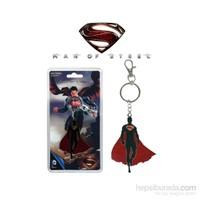 Superman: Man Of Steel Silhouette Keychain Anahtarlık