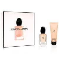 Giorgio Armani Si Edp 30 Ml Kadın Parfüm + 75 Ml Vücut Losyonu Set
