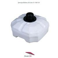 Şemsiye Evi Plastik Şemsiye Bidonu 50 Litre Su 70 Kg Kum 51-1001-01