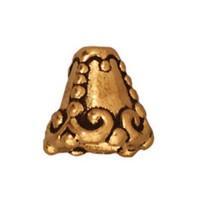 Tierra Cast Heirloom 1 Adet 8.75X9 Mm Altın Rengi Huni Kapama - 94-5619-26