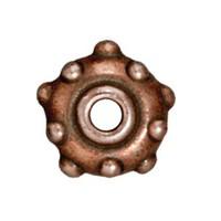 Tierra Cast Metal 1 Adet 5.5X11 Mm Bakır Rengi Perçin Metal Aksesuar Boncuk - 94-5745-18