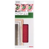 Bosch - Titreşimli Zımpara Kağıdı 10'Lu, 93 X 230 Mm 60 Kum 8 Delik