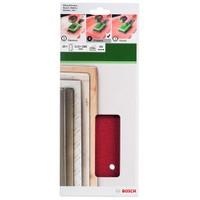 Bosch - Titreşimli Zımpara Kağıdı 10'Lu, 115 X 280 Mm 80 Kum 14 Delik