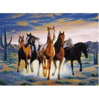 Clementoni Puzzle Horses In Desert (500 Parça)