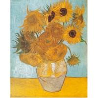 Clementoni Puzzle Sun Flowers, Van Gogh (1000 Parça)