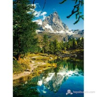 Matterhorn in The Mirror: The Lake (1500 parça)