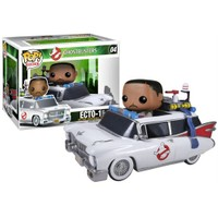 Funko Rides Ghostbusters Ecto 1 And Zeddemore Pop