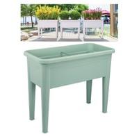 Homecare Ayaklı Bahçe Saksısı Su Yeşili Renk 091988