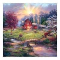 Masterpieces Puzzle Anticipation Of The Day Ahead (1000 Parça)