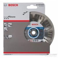 Bosch - Best Serisi Taş İçin Elmas Kesme Diski - 115 X 22,23 X 2,2 X 12 Mm