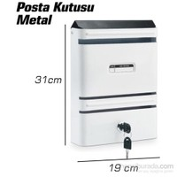 Sonax GS Metal Posta Kutusu 090625