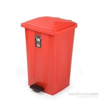 Bora BO642 Pedallı Çöp Kovası Köşeli 48 Litre