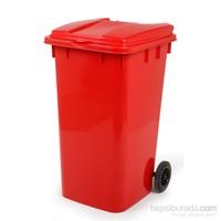 Bora BO994 Çöp Kovası Kırmızı 240 Litre