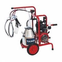 Tulsan Çift Sağım Tek Güğümlü(Çelik)Süt Sağım Makinası