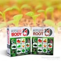Potta Gübre Seti (2 Adet Root+ 2 Adet Body Paketi)