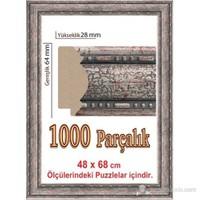 Heidi Desenli Puzzle Çerçevesi 1000 Parça İçin 68 X 48 Cm
