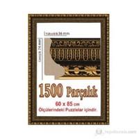 Polistiren Puzzle Çerçevesi Kahverengi (85 X 60 Cm.)