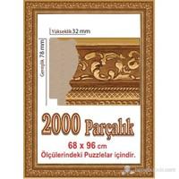 Heidi Puzzle Çerçevesi 2000 Parça İçin 96 X 68 Cm