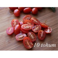 Tohhum Saksılık Zeytin Cherry Domates 10+Tohum [Tohhum Ev Bahçe]