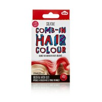 Npw Comb In Temp Haır Colour Red