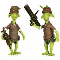 Planet 51 2 Asker Oyuncak Figürleri