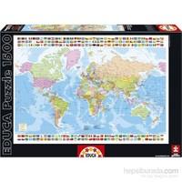 Educa 1500 Parçalık Dünya Haritası Puzzle