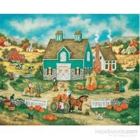 Masterpieces 500 Parça Puzzle Piles Of Pumpkins
