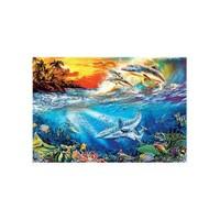 Masterpieces Puzzle Dolphin Daze (500 Parça)
