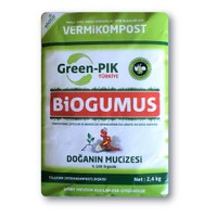Green Pik Biogumus % 100 Organik Solucan Gübresi 2,4 Kg