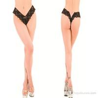 La Blinque Seksi İç Giyim Lez Dantel Short Külot