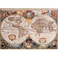 Gold Puzzle Eski Dünya Haritası (1000 Parça)