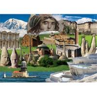 Gold Puzzle Türkiye'mizin Kültürel Mirası (2000 Parça)