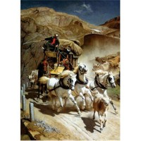 Gold Puzzle Gotthard Postası (2000 Parça)