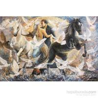 Gold Puzzle 2000 Parça Doğa Hislerinin Döngüsünde