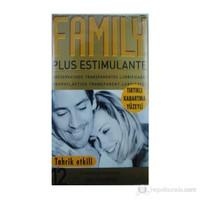 Family Kabartma Yüzeyli Prezervatif 12'Li