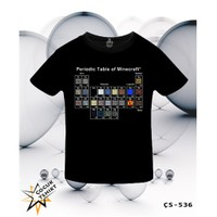 Lord T-Shirt Minecraft - Periodic Table T-Shirt