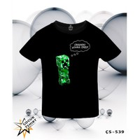 Lord T-Shirt Minecraft - Creepers Gonna Creep T-Shirt