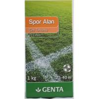 Genta Spor Alan Çim Tohumu 1 kg.