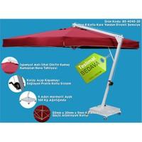 Şemsiye Evi 3X3 Mt Kare Yandan Direkli Bahçe Şemsiyesi 80-4040-30