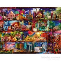 Kitapların Dünyası (2000 Parça Puzzle)