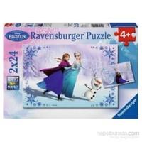 Frozen ( 2X24 Parça Puzzle)